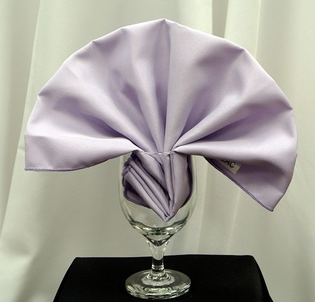 Lilac Poly Napkin