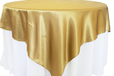 Antique Gold 72″ x 72″ Satin Overlay