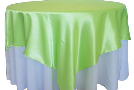 Apple Green 72″ x 72″ Satin Overlay