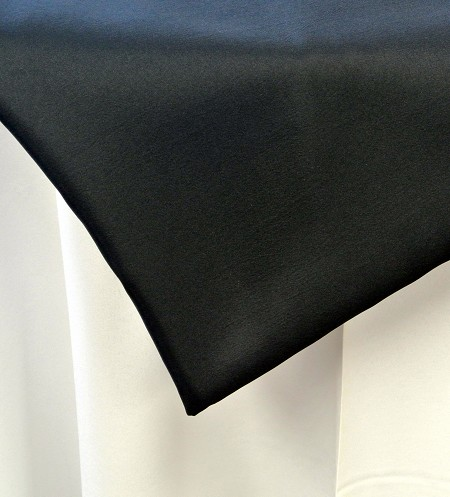 Black 120″ Round Poly