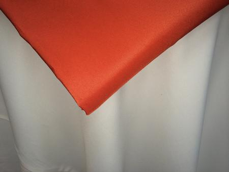 Burnt Orange 120″ Round Poly