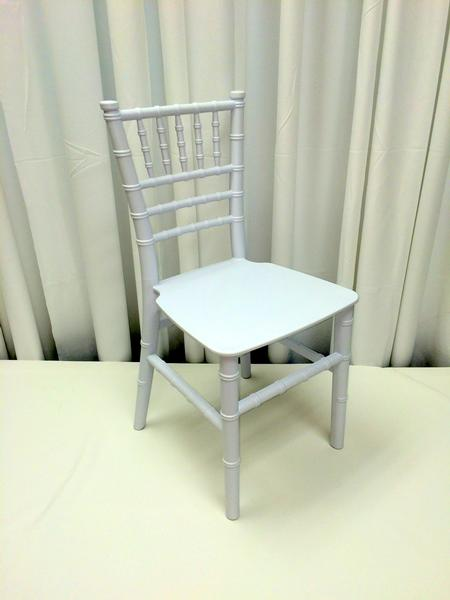 Children's Chiavari Chair, White