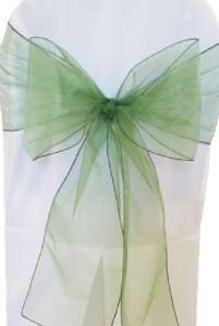 Clover Organza Chair Sash
