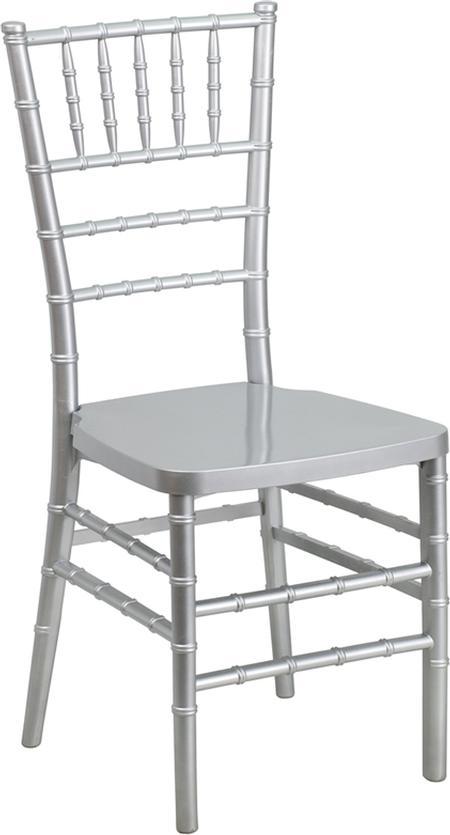 Chiavari, Silver, Resin Chair (Pad Separate)