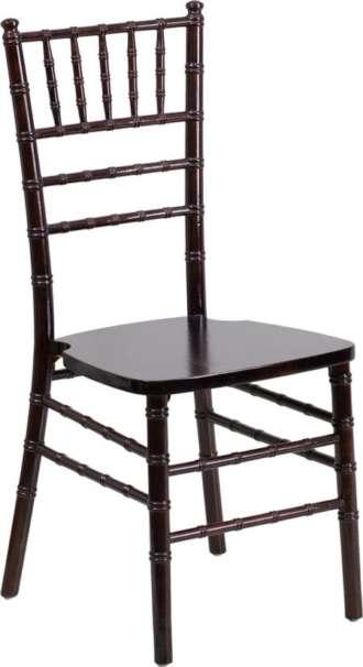 Chiavari, Mahogany, Wood Chair (Pad Separate)