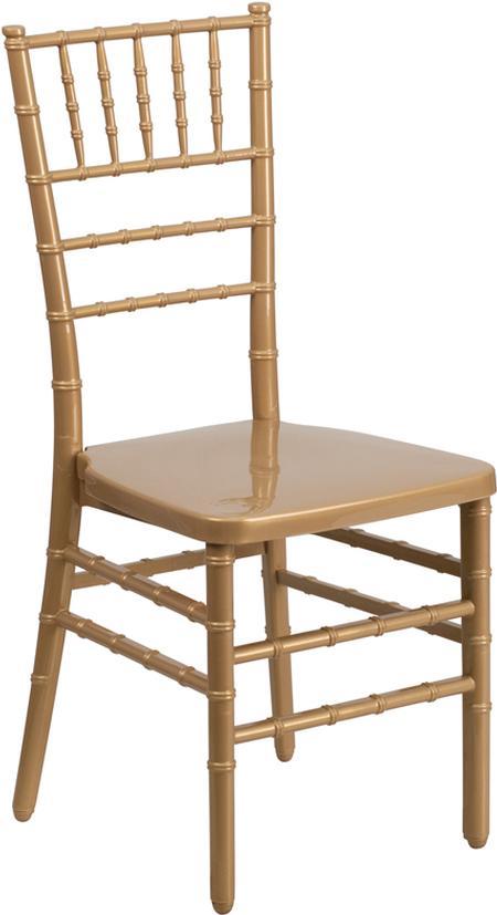 Chiavari, Gold, Resin Chair (Pad Separate)