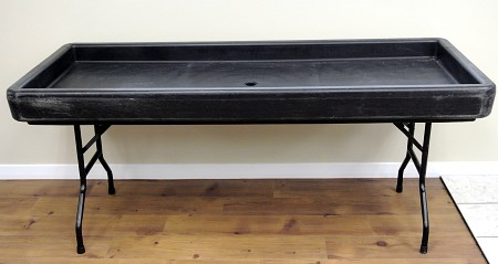 Fill And Chill Table – Black (Table Only)