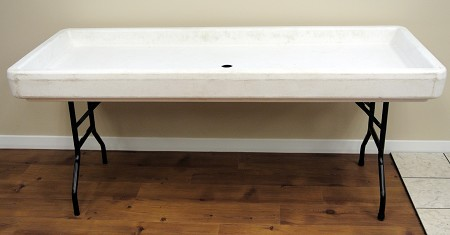 Fill And Chill Table – White (Table Only)