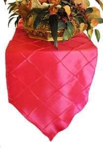 Fuchsia Pintuck Runner 13″ x 108″
