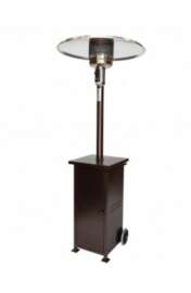 Patio Heater, Collapsible~Bronze