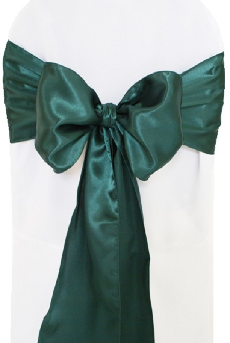 Holly Satin Chair Sash