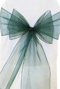 Holly Organza Chair Sash