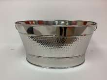 Stainless Hammered tub