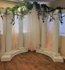 Colonnade Arch-Decorated