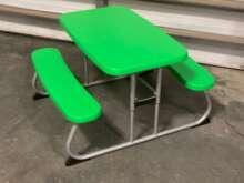 Picnic Table, Children's ~ Green