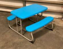 Picnic Table, Children's ~ Blue