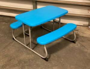 Picnic Table, Children's ~ Blue