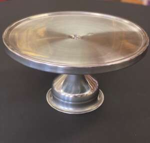 Stainless, Cake Stand, 13″