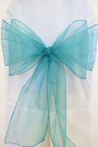 Jade Organza Chair Sash