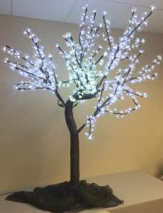 Lighting, 6′ LED Cherry Blossom Tree