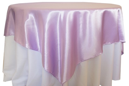 Lavender 72″ x 72″ Satin Overlay