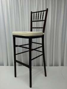 Mahogany, Wood, Chiavari Bar Stool (Pad Separate)