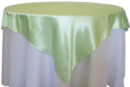 Mint Green 72″ x 72″ Satin Overlay