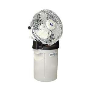 18″ White Misting Fan