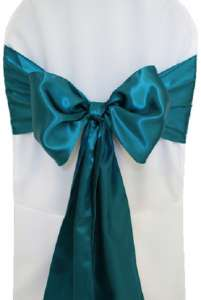 Oasis Satin Chair Sash