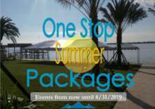 One Stop Summer Packages now - 8/31/19