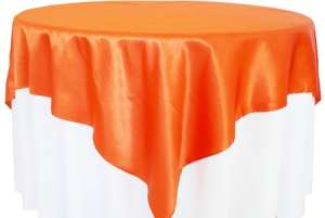 Orange 72″ x 72″ Satin Overlay