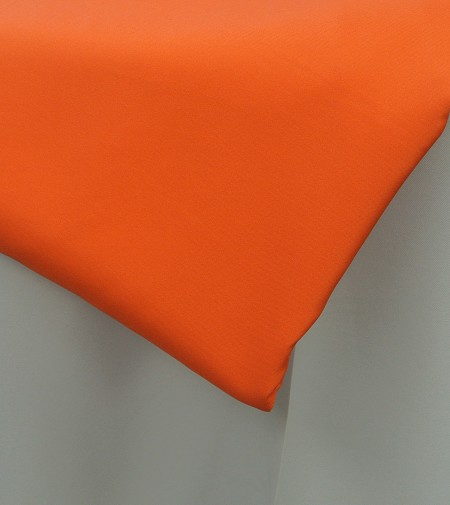 Orange 120″ Round Poly