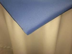 Periwinkle 120″ Round Poly