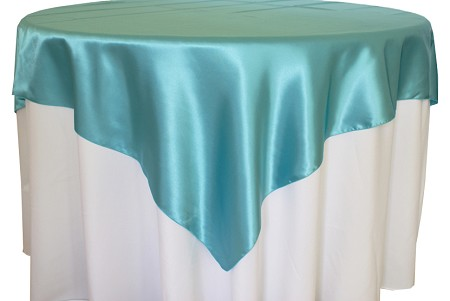 Pool Blue 72″ x 72″ Satin Overlay