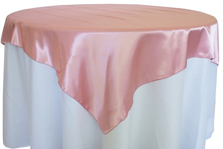 Rose 72″ x 72″ Satin Overlay