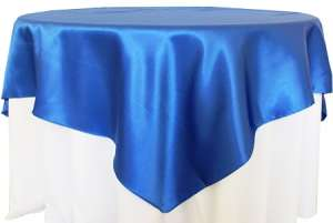 Royal Blue 72″ x 72″ Satin Overlay