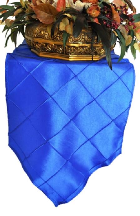 Royal Blue Pintuck Runner 13″ x 108″