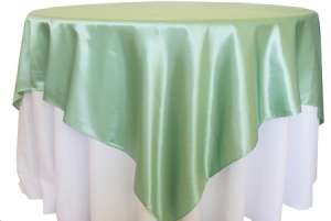 Sage Green 72″ x 72″ Satin Overlay