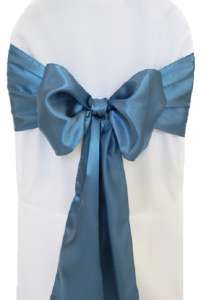 Serene Satin Chair Sash