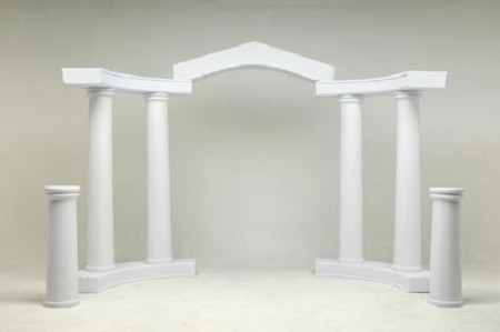 Colonnade Arch – Tuscan Style