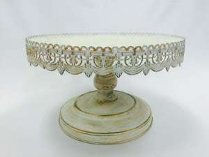 Vintage Cake Stand, 16″