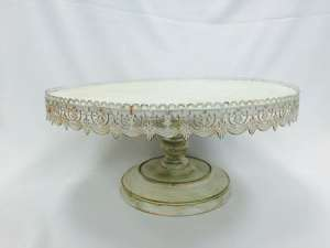 Vintage Cake Stand, 22″