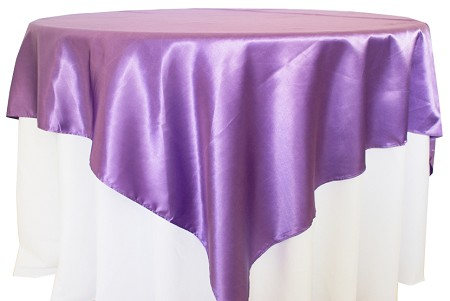 Victorian Lilac 72″ x 72″ Satin Overlay