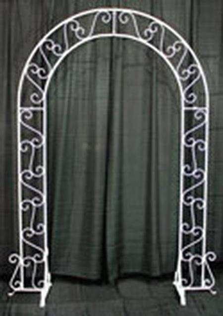Archway, White Metal
