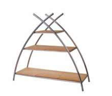 BAMBOO A-FRAME DISPLAY STAND