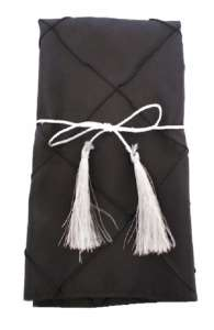 Black Pintuck Napkin