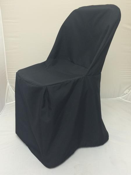 Black, Folding Chair Cover