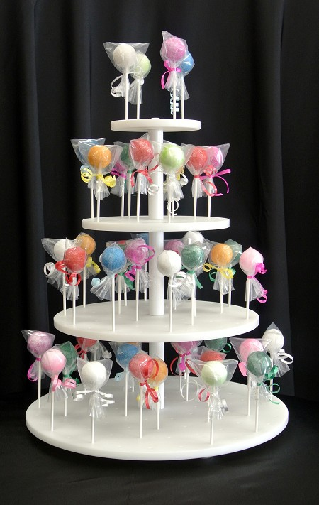 Cake Pop Tower