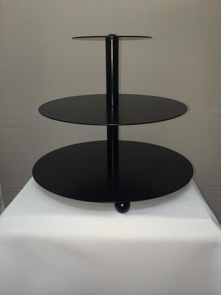 Mini Contemporary Cupcake Tree, Black