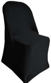 Black Folding Chair Cover